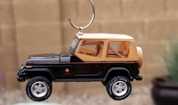 Jeep Christmas Ornament.Christmas Ornament 1994 Jeep Wrangler Sahara Greenlight Ornament Rear View Mirror Jeep Charm Jeep Decor 4x4 Jeep Off Road Accessories