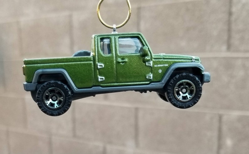 Jeep Wrangler Accessories 2017 >> Christmas Ornament Matchbox 2017 Jeep Gladiator Jeep Ornament Christmas Gift Truck Ornament Jeep Pickup Jeep Wrangler Accessories Charm