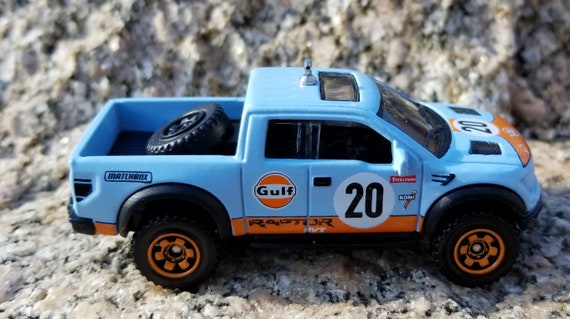 2010 F150 Accessories >> Christmas Ornament 2010 Ford F 150 Raptor Svt Gulf Oil Pickup Truck Accessories Matchbox 4x4 Off Road Rear View Mirror Charm Style Swag