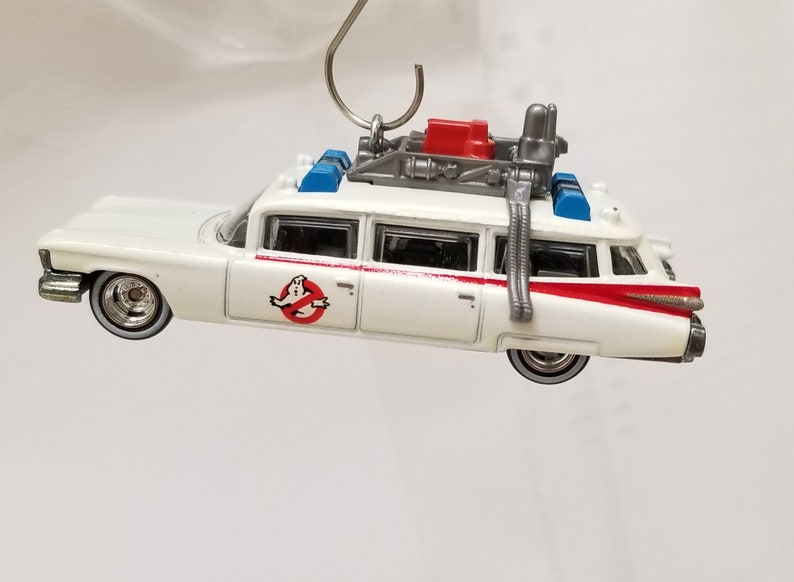 Retro Style Ornament Ghostbusters Ecto 1 Hot Wheels Etsy