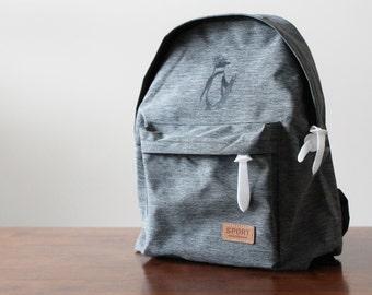 Sketchy Penguin Backpack