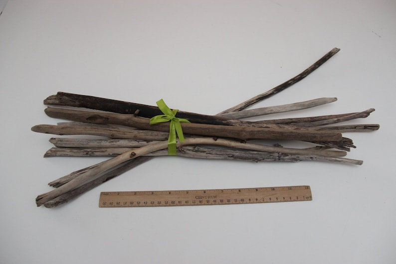 Driftwood Twigs Driftwood For Vase Arrangements Long branch Vase Filler Branches 45,5-58cm 10 Pcs Thin Driftwood Branches 18-22.6/'/'