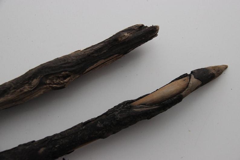 Macrame Mobiles 13/'/'-17.3/'/' Driftwood Sticks 33-44cm 2 Dark Curved Driftwood Mobiles Crafting Driftwood Pieces Driftwood Branches
