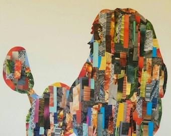 Poodle Decoupage Wall Art
