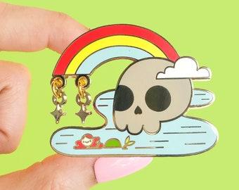 Mermaid Lagoon Enamel Pin   Fantasy Pin   Disney Bound Park Style   Pastel Aesthetic