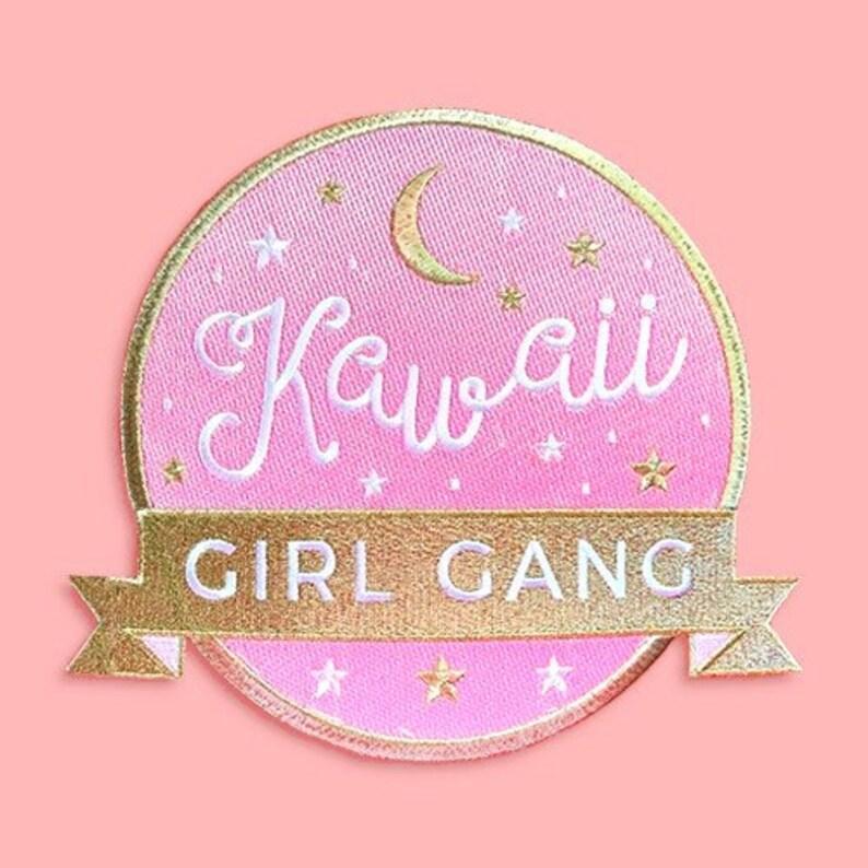 Kawaii Girl Gang Jumbo Patch