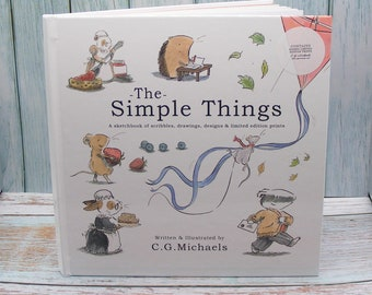 The Simple Things Book with Limited Edition Prints