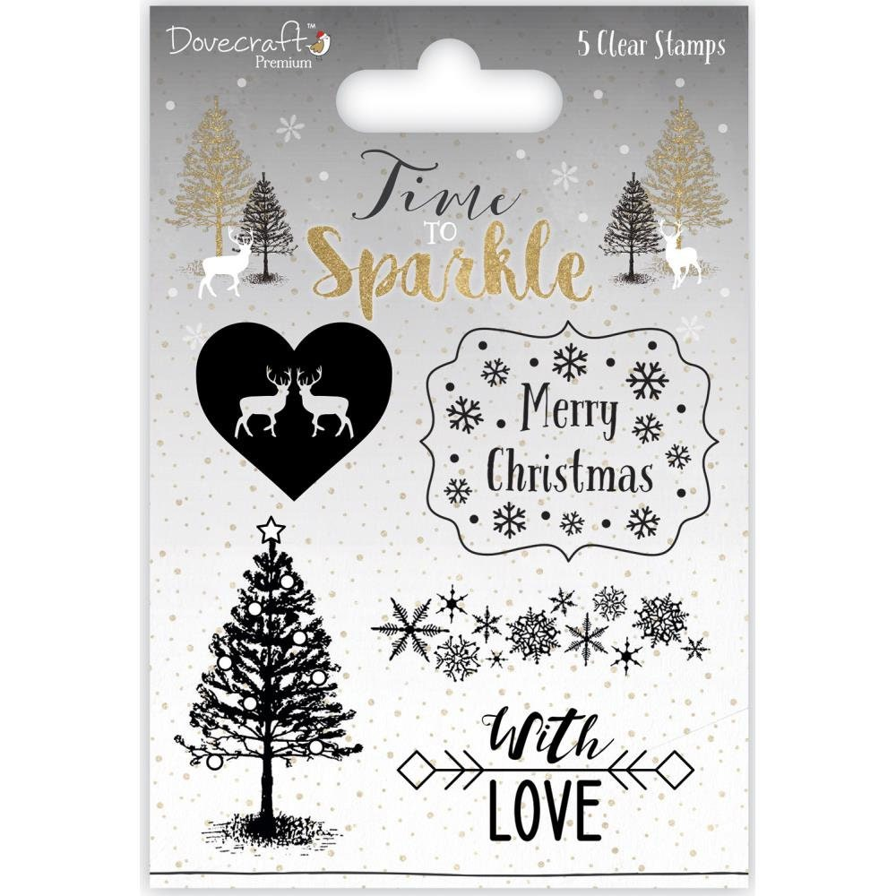Dovecraft Collection Time To Sparkle Merry Christmas   Etsy
