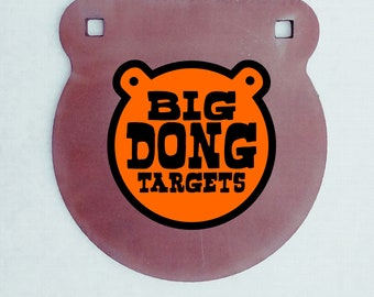 """BIG DONG TARGETS 1/2"""" Thick Gong AR500 Steel Target with Crack Proof Mounting Tabs, Available Sizes include 3"""", 4"""", 6"""", 8"""", 10"""", 12"""", 16"""""""
