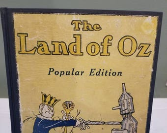 The Land of Oz from the Wizard of Oz Collection with color plates & Wizard of oz plate | Etsy