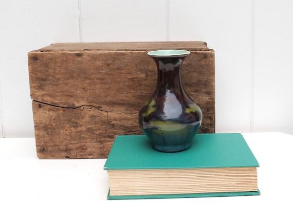 Pottery Vase Handmade Flower Vase Vintage Pottery Art Etsy