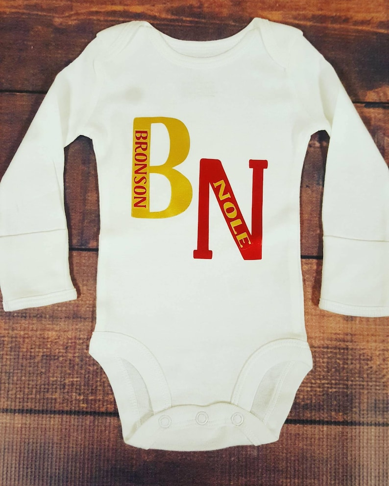 022434b1b Baby Boy Clothes Name Monograms Initials Newborn Bodysuits | Etsy