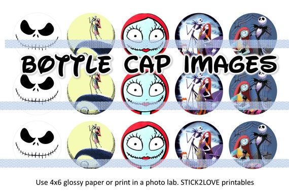 image regarding Jack Skellington Printable referred to as Halloween Jack Skellington Disney Nightmare ahead of xmas printables 4x6 - 1\