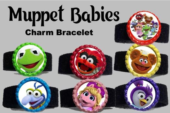 Muppet Babies Bottle Cap Charm Bracelet Party Favors