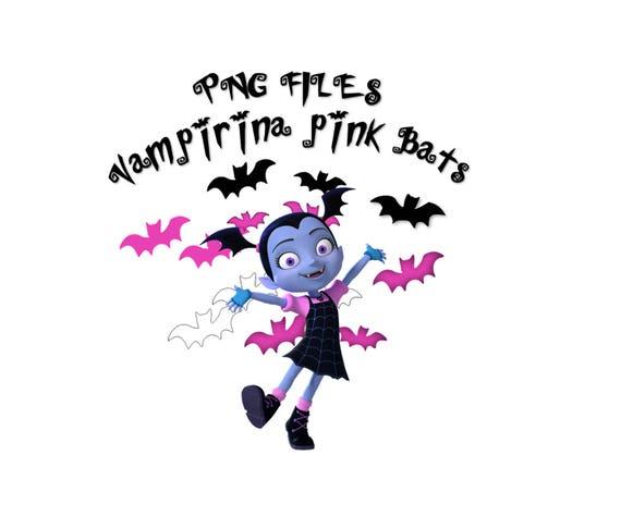 Murciélagos Vampirina Png Png Fondo Transparente Batty Etsy