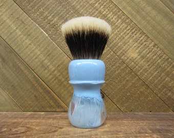 Clear Sky - Shaving brush handle with choice of knot, or 26mm handle only shaving handle (28mm socket)