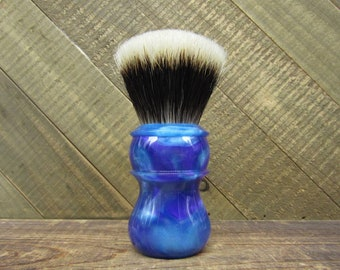 Gem - Shaving brush handle with choice of knot, or 26mm handle only shaving handle (28mm socket)
