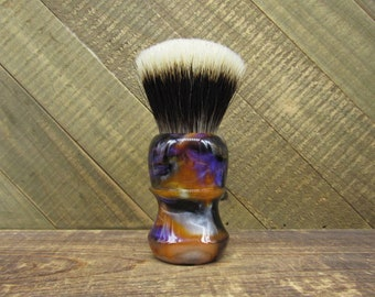 The Valley - Shaving brush handle with choice of knot, or 26mm handle only shaving handle (28mm socket)