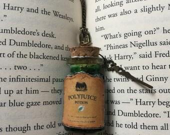 Polyjuice Potion necklace