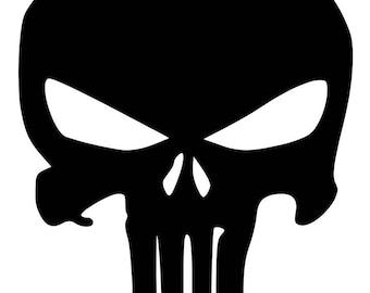 The Punisher Logo SVG Digitial Download