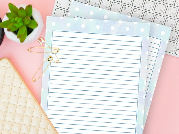 photograph regarding Free Printable Decorative Paper named Printable Paper With Traces, Ornamental Composing Stationery, Included Magazine Website page Down load, Watercolor Notes Include, Blank Letter Sheet, Boys