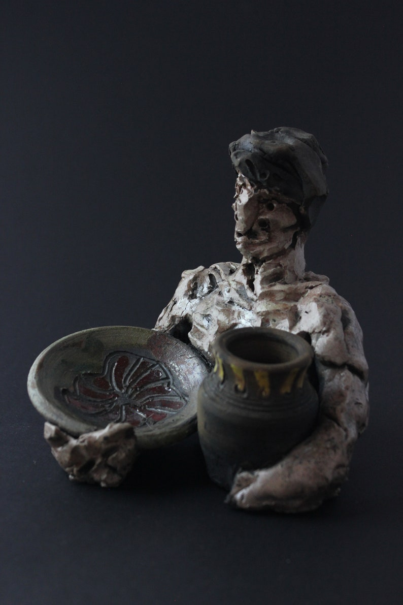 Man with Two Pots