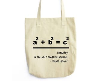 Hilbert and a Beautiful Equation bag