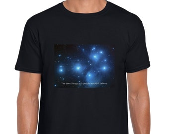 The Pleiades star cluster tshirt