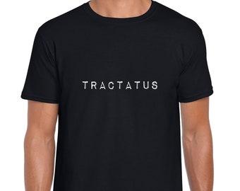 Tractatus philosophy minimal tshirt