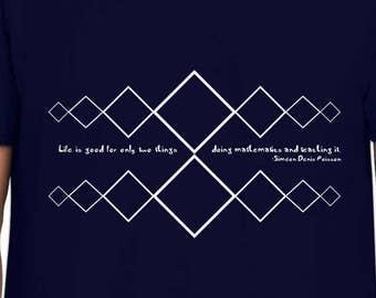 Life is Mathematics teacher gift tshirt