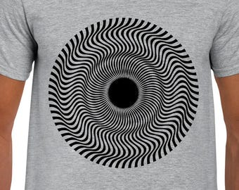 Vertigo Optical Illusion art t shirt