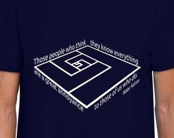 What Asimov Said funny t shirt