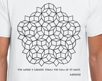 Penrose Tilling and Aristotle cool tee