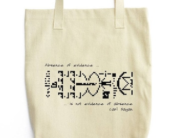Carl Sagan and Interstellar Message bag