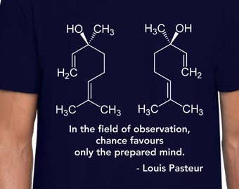 The Enantiomers science art t shirt