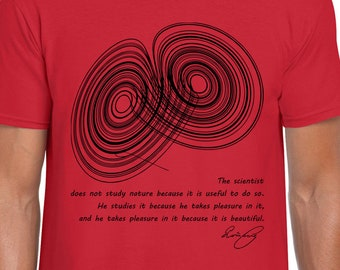 A Strange Attractor science art t shirt