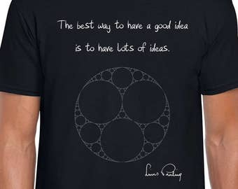 Linus Pauling Ideas science tshirt