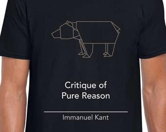 Kantian Philosophy art t shirt