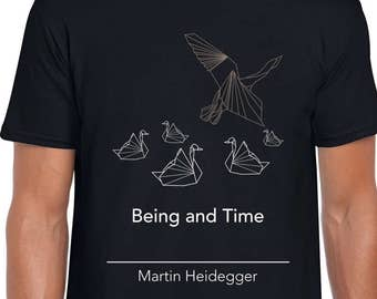 Being and Time philosophy art t-shirt