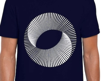 Mobius Sun Optical Illusion t-shirt