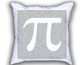Pi Number math numberphile throw pillow