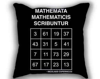Copernicus Prime Magic Square pillows