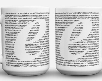 Euler Number coffee numberphile mug