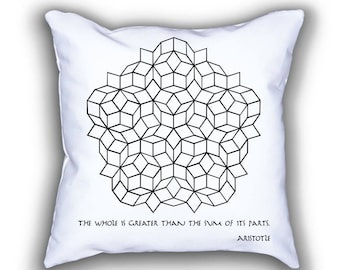 Penrose Tilling and Aristotle pillows