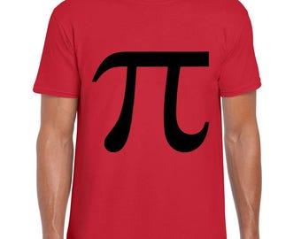 The Pi Number minimal math t-shirt