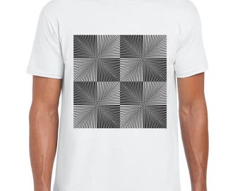 Space Time Distortions art t-shirt