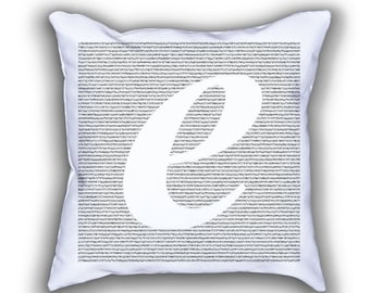 Euler Number math numberphile pillows
