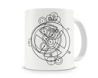 Antikythera Mechanism Schematic cool mug