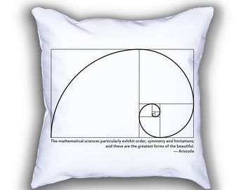 Fibonacci Spiral and Aristotle pillows