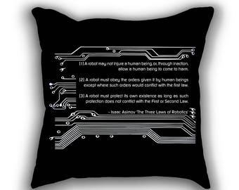 The Three Laws of Robotics pillows